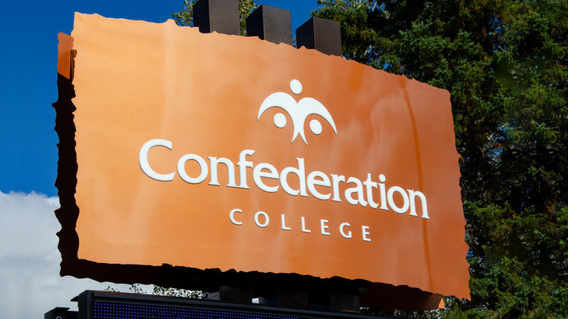 Confederation College Signage